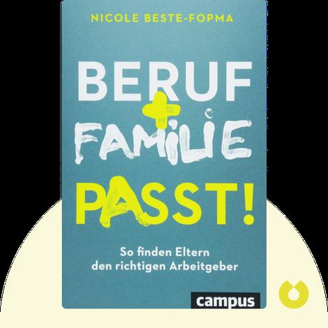 Beruf und Familie passt! by Nicole Beste-Fopma
