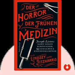 Der Horror der frühen Medizin: Joseph Listers Kampf gegen Kurpfuscher, Quacksalber und Knochenklempner von Lindsey Fitzharris