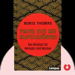 Fang nie an aufzuhören: Das Mindset für Manager und Macher by Boris Thomas