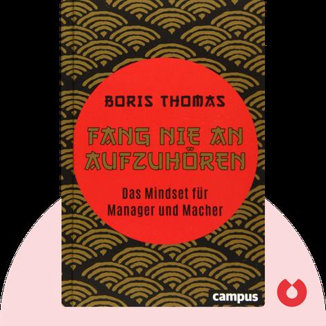 Fang nie an aufzuhören von Boris Thomas