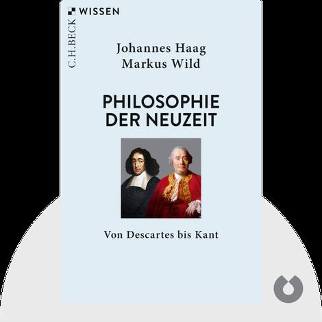 Philosophie der Neuzeit von Johannes Haag & Markus Wild