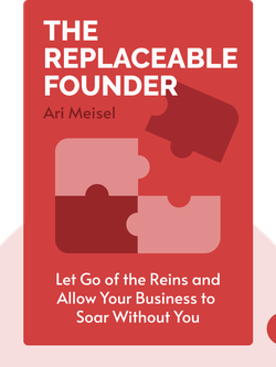 The Replaceable Founder by Ari Meisel