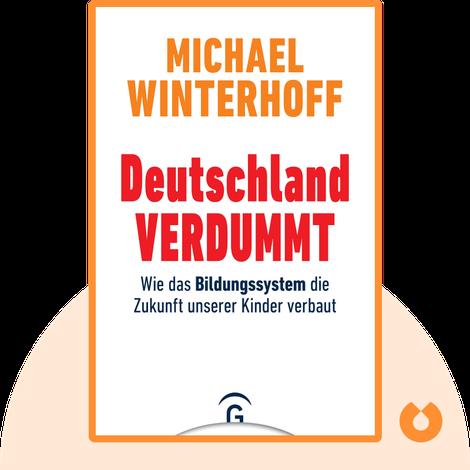 Deutschland verdummt von Michael Winterhoff