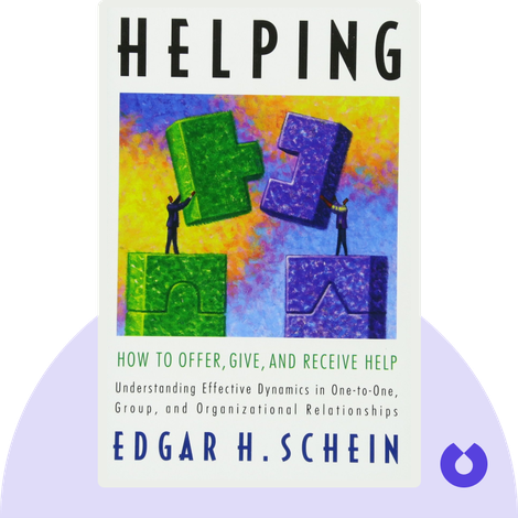 Helping by Edgar H. Schein