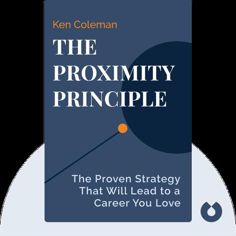 The Proximity Principle von Ken Coleman