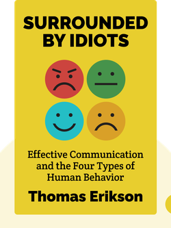 Surrounded by Idiots: The Four Types of Human Behavior and How to Effectively Communicate with Each in Business (and in Life) by Thomas Erikson
