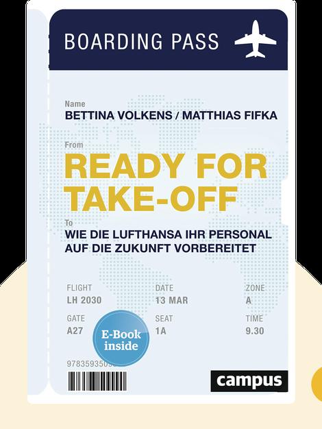 Ready for Take-off: Wie die Lufthansa ihr Personal auf die Zukunft vorbereitet by Bettina Volkens & Matthias Fifka