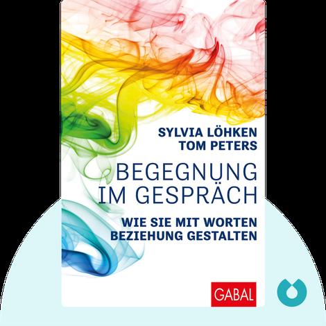 Begegnung im Gespräch by Sylvia Löhken & Tom Peters
