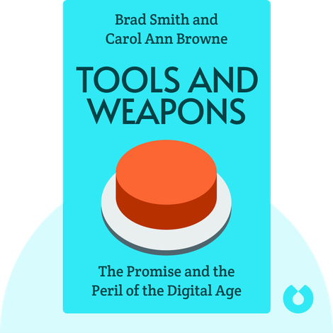 Tools and Weapons von Brad Smith and Carol Ann Browne