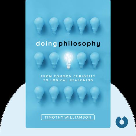 Doing Philosophy von Timothy Williamson