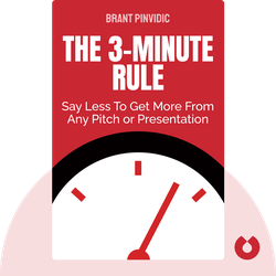 The 3-Minute Rule: Say Less to Get More from Any Pitch or Presentation by Brant Pinvidic