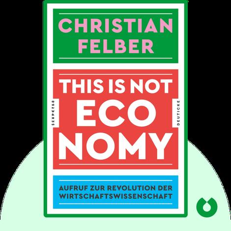 This is not economy von Christian Felber