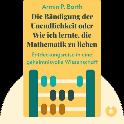 Die Bändigung der Unendlichkeit oder Wie ich lernte, die Mathematik zu lieben by Armin P. Barth