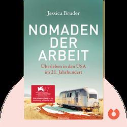 Nomaden der Arbeit: Überleben in den USA im 21. Jahrhundert by Jessica Bruder