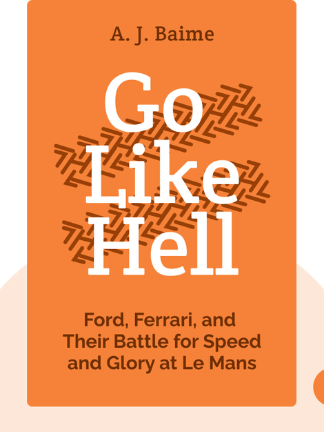 Go Like Hell: Ford, Ferrari, and Their Battle for Speed and Glory at Le Mans by A. J. Baime