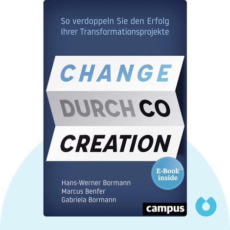 Change durch Co-Creation von Hans-Werner Bormann, Marcus Benfer & Gabriela Bormann