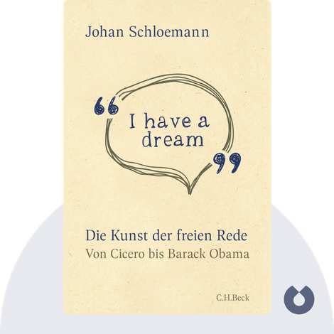 """I have a dream"" von Johan Schloemann"