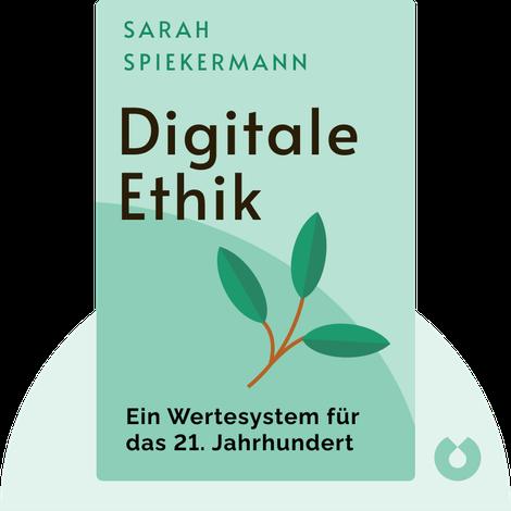 Digitale Ethik von Sarah Spiekermann
