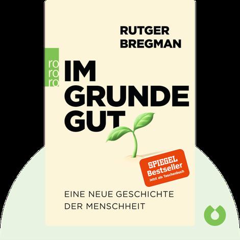 Im Grunde gut by Rutger Bregman