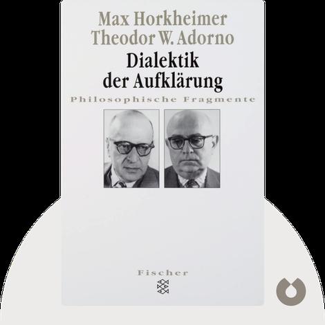 Dialektik der Aufklärung by Max Horkheimer & Theodor W. Adorno