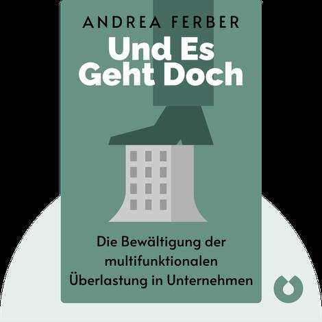 Und es geht doch von Andrea Ferber