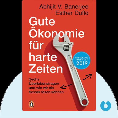 Gute Ökonomie für harte Zeiten von Abhijit V. Banerjee und Esther Duflo
