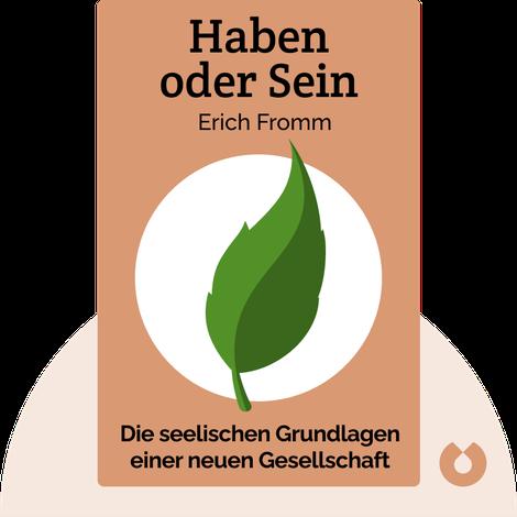 Haben oder Sein by Erich Fromm