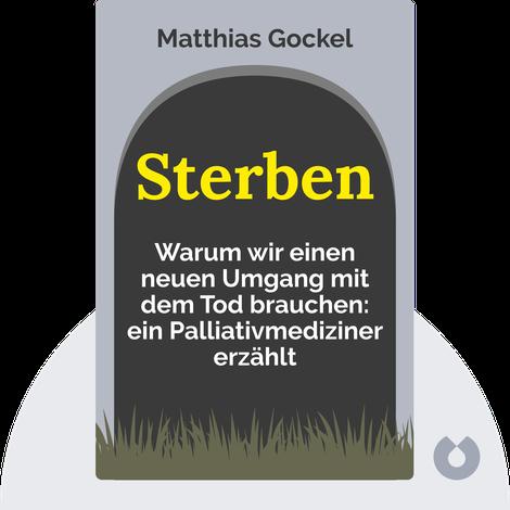 Sterben von Matthias Gockel