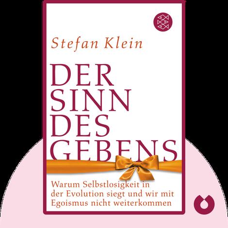 Der Sinn des Gebens by Stefan Klein
