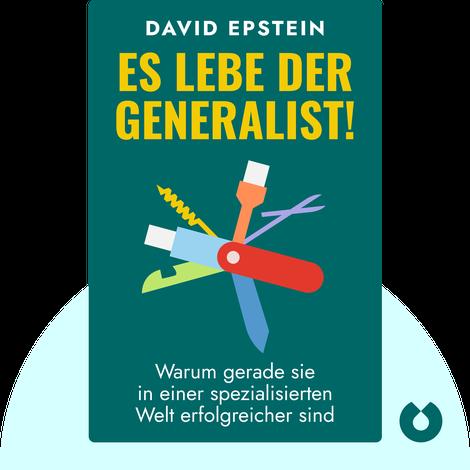 Es lebe der Generalist! by David Epstein