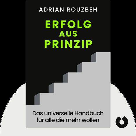 Erfolg aus Prinzip by Adrian Rouzbeh