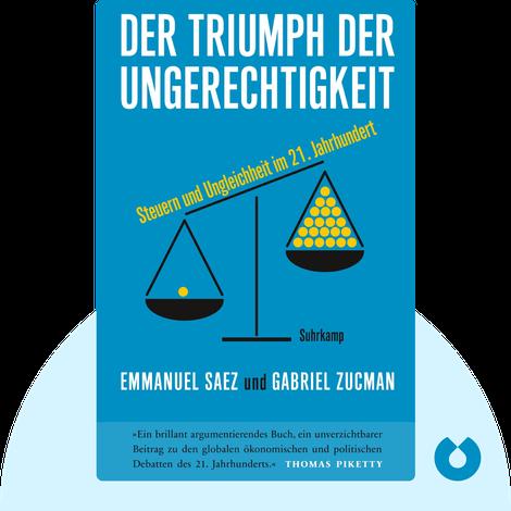 Der Triumph der Ungerechtigkeit by Emmanuel Saez & Gabriel Zucman