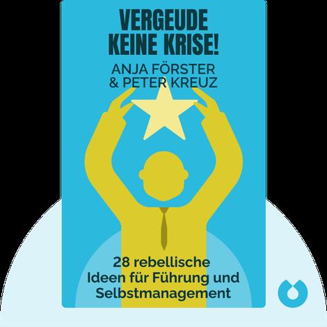 Vergeude keine Krise! von Anja Förster & Peter Kreuz