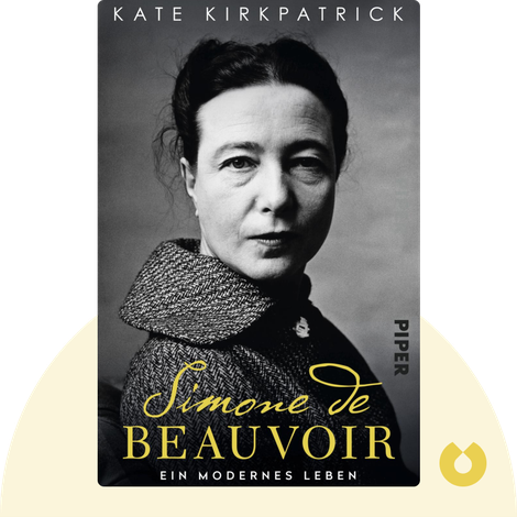 Simone de Beauvoir by Kate Kirkpatrick