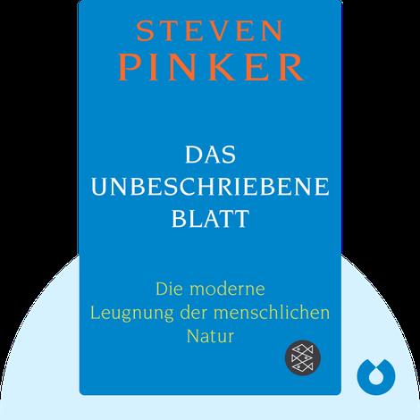 Das unbeschriebene Blatt by Steven Pinker