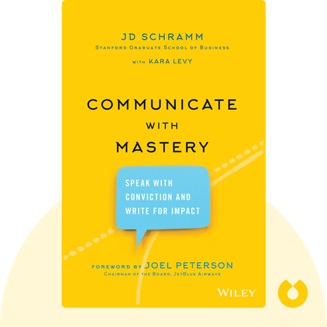Communicate with Mastery by J. D. Schramm with Kara Levy
