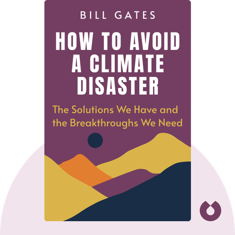 How to Avoid a Climate Disaster by Bill Gates