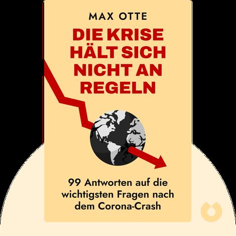 Die Krise hält sich nicht an Regeln by Max Otte