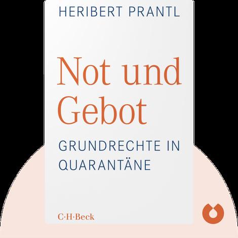 Not und Gebot by Heribert Prantl