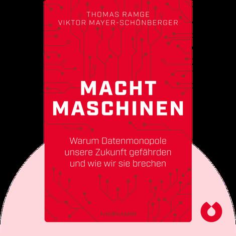 Machtmaschinen by Thomas Ramge & Viktor Mayer-Schönberger